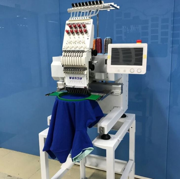 New Small Type Single Head Embroidery Machine Q201