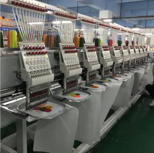 10 Heads T-shirt Embroidery Machine High Speed Cap Embroidery